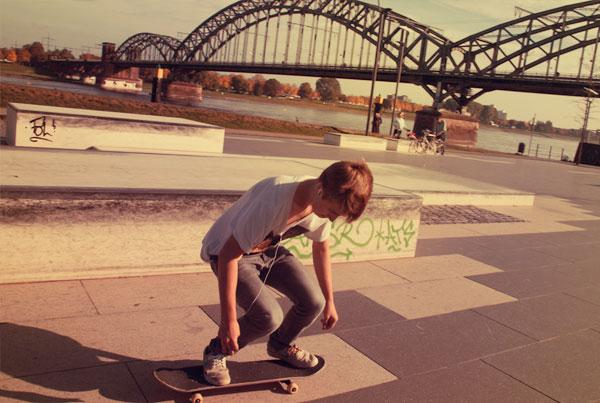Skatepark KAP 686 im Rheinauhafen