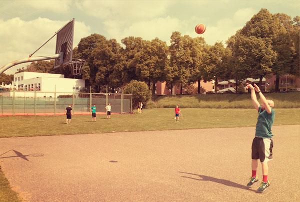 Basketball auf den Pollerwiesen