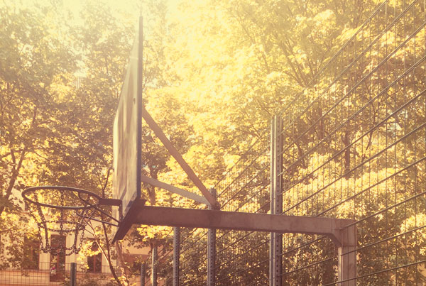 Basketball auf dem Rathenauplatz
