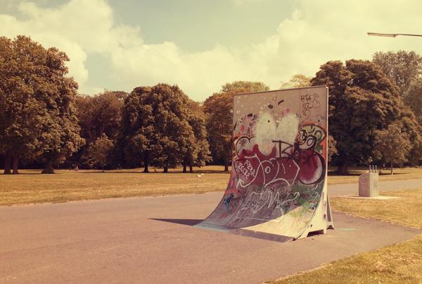 Skaten im Vorgebirgspark