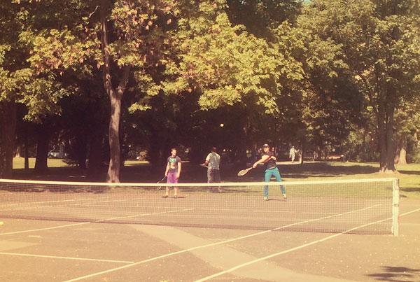 Tennisplatz am Colonius