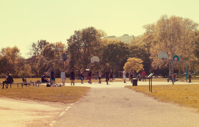 Basketball am Colonius