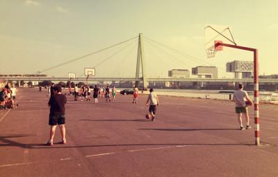 Basketball Kirmesplatz Köln Deutz