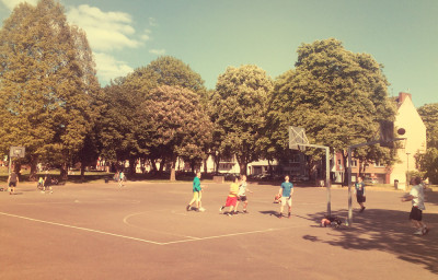 Basketball im Klingelpützpark