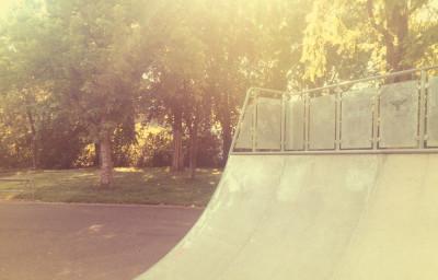 Miniramp im Klingelpützpark