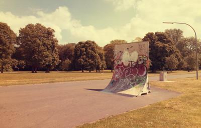 Skateboarden Im Vorgebirgspark