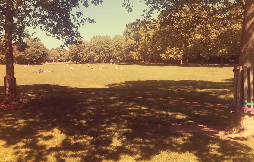 Slacklinepark am Colonius
