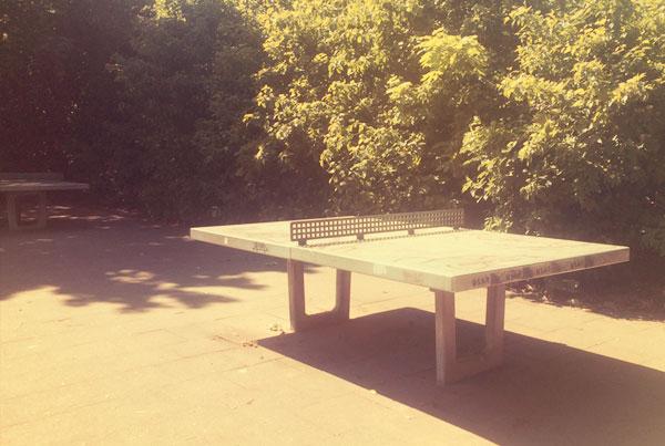 Tischtennisplatten in Nippes