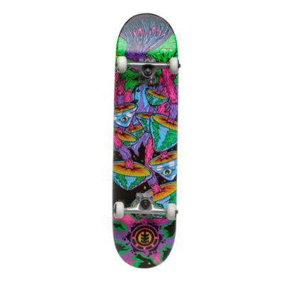 element skb blacklight shrooms 8 skateboard. Black Bedroom Furniture Sets. Home Design Ideas